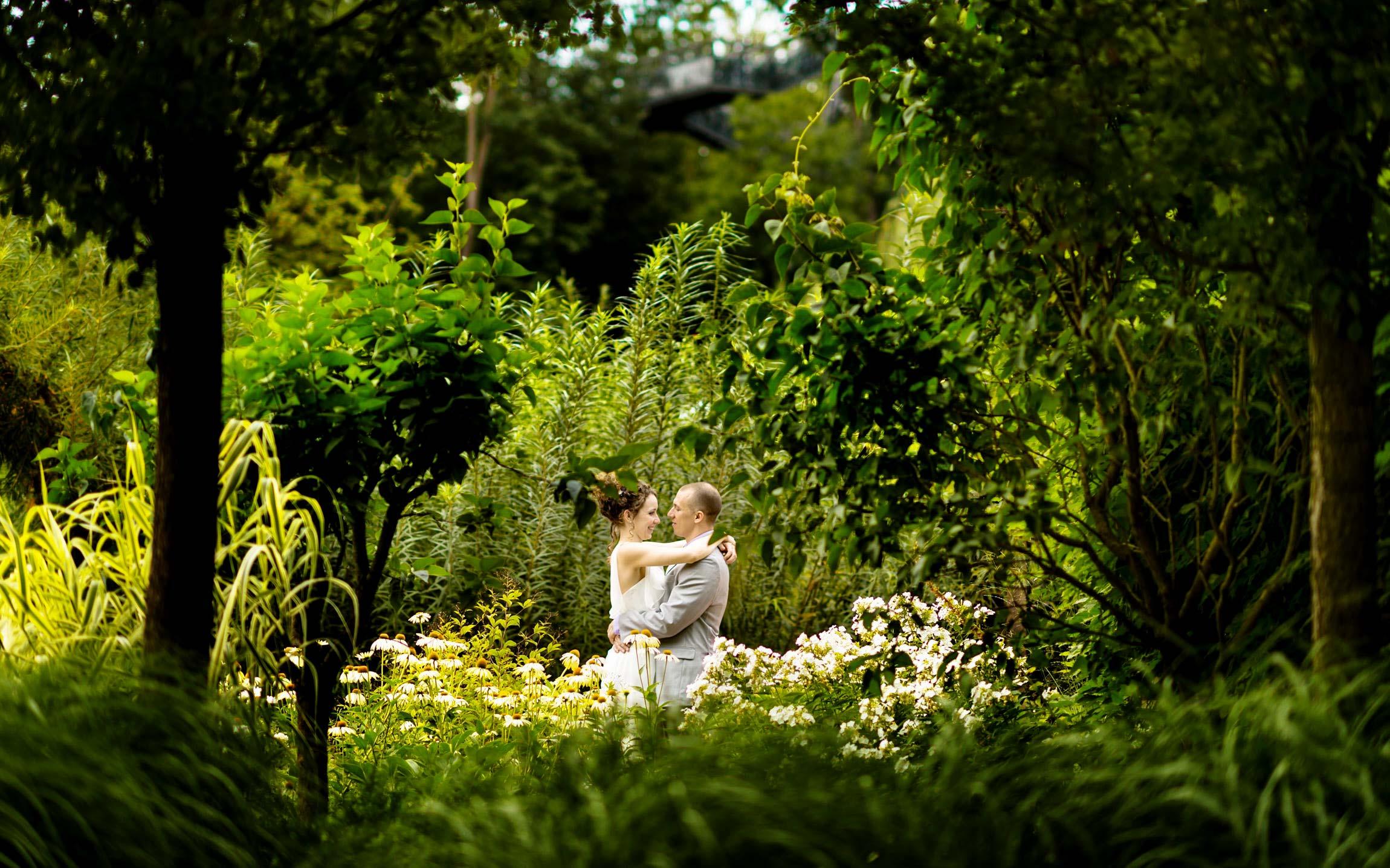 Hochzeitsfotos Wien und in den Garten Tulln